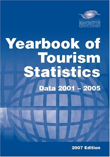 Yearbook of Tourism Statistics (2007 Edition) (Yearbook of Tourism Statistics); Data 2001-2005. World Tourism Organization.