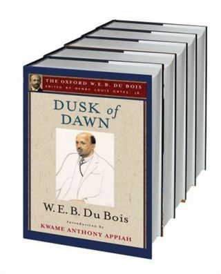 The Oxford W. E. B. Du Bois: 18 volumes of a 19 volume set.