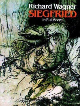 Siegfried in Full Score. Richard Wagner